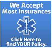 We accept most insurances!